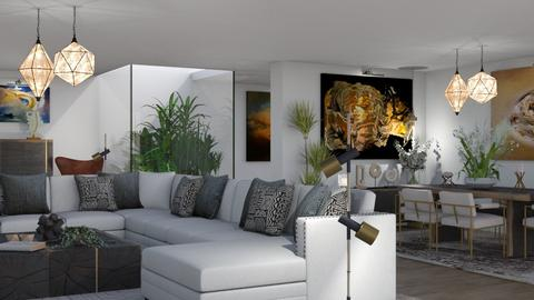 The Garden Inside - Modern - Living room  - by Claudia Correia
