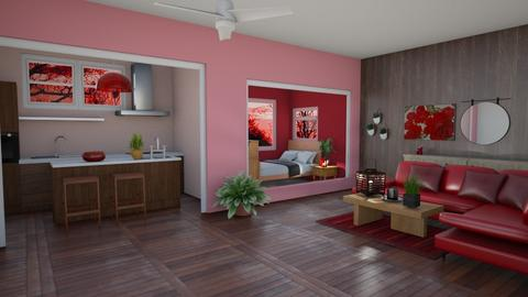 Red Apartment - by pbandjamii