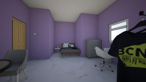 habitacion - Minimal - Bedroom  - by NATALIA MEJIA