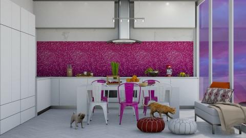 Desert Dusk - Modern - Kitchen  - by bgref