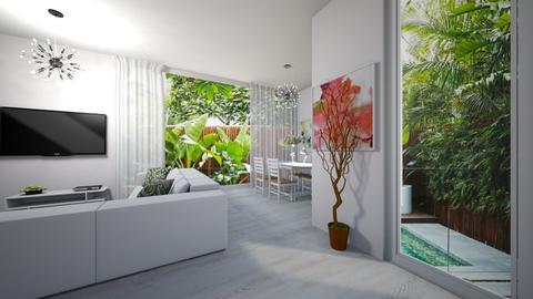 Window light - Living room  - by ashpashly