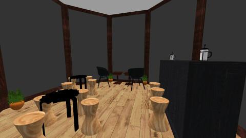 La Cabana Cafe - Rustic - by sabjubar