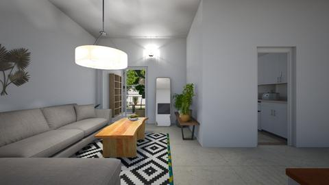 house ramat chen 2 - Living room  - by TamarMatalon