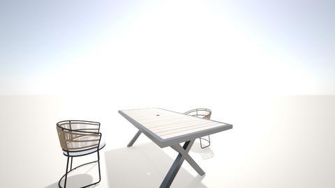 Casita - Minimal - Dining room  - by Fernanda Riffo