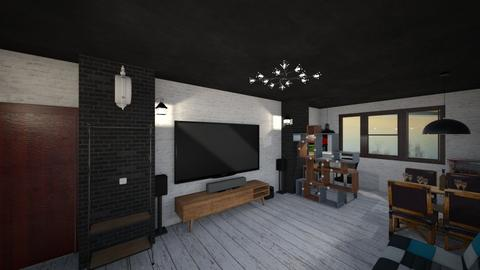 Living Room By Bogdan - Retro - Living room  - by Bogdan Marisoiu