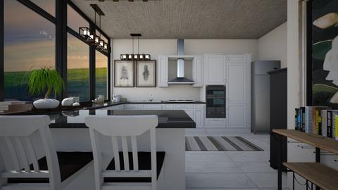 modern farm - Kitchen  - by allday08