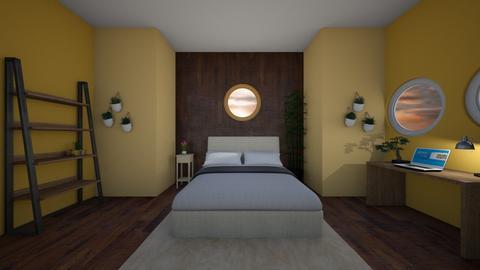 Plant Bedroom - Rustic - Bedroom  - by sirkiwi7