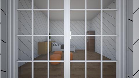 Simple - Kids room  - by neevmishra