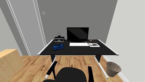 cuarto Adrian - Minimal - Living room  - by Axel Rodriguez