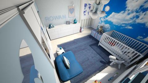 Rowan's nursery - Kids room  - by AgnesDS