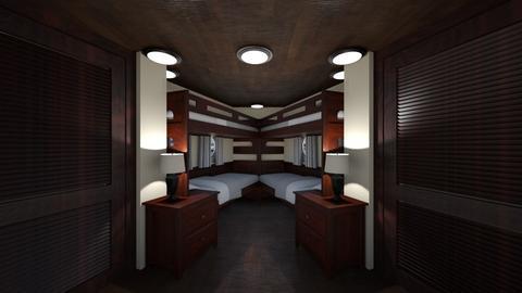Yacht Cabin 3 - Bedroom  - by SammyJPili