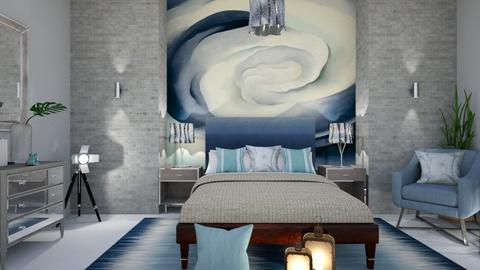 O Keeffe inspired Bedroom - Bedroom - by matina1976