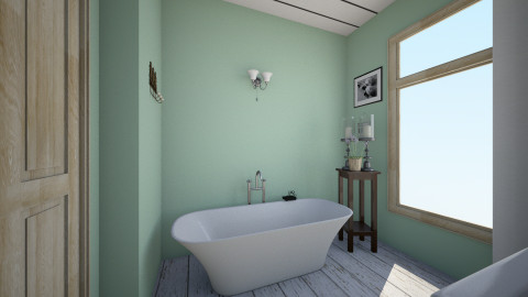 First Part 4 - Country - Bathroom  - by Valeriesalaets