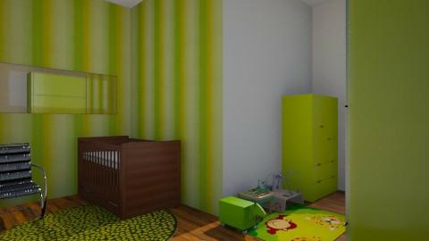 Bubba Bedrom - Glamour - Kids room  - by pozychic