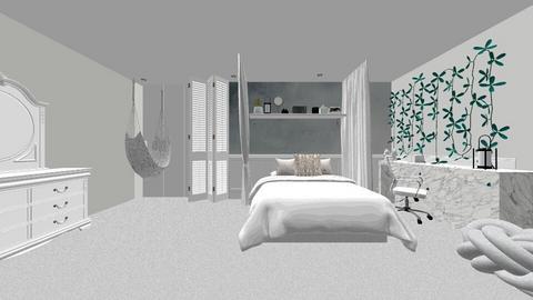 bedroom small  - Modern - Bedroom  - by MillieBB_fan