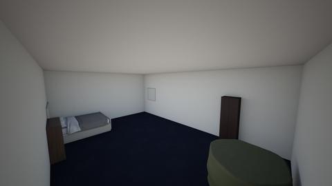 my bedroom - by Ronanhegeman