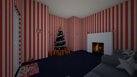 Christmas room - by JAZZ_FRANTICS