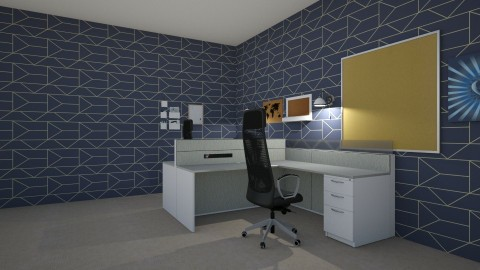 office room - Glamour - Office  - by deleted_1508269637_clemencevilmay