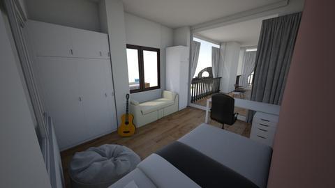 room 5 - Modern - Bedroom  - by celion