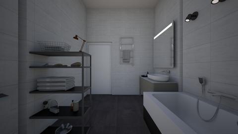 mansiononbbed - Bathroom  - by Architectdreams