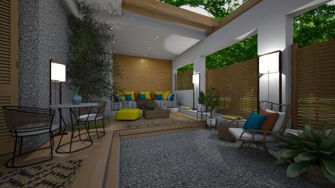 Small patio night - Garden  - by rosanebpf