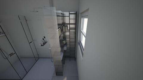 Brittini bathroom - Bathroom  - by lunasconstruction