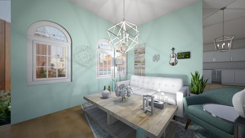 pastel room - Living room  - by designer408340284
