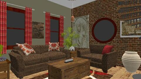 Living Room - Eclectic - Living room - by Sonya Nichols