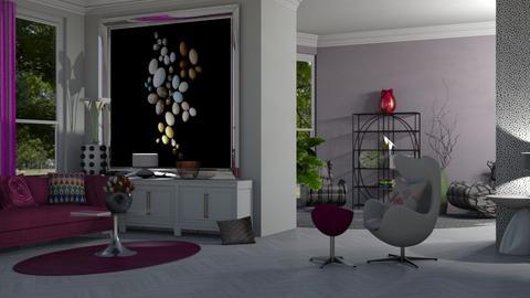 eggs 03 - Living room  - by nat mi