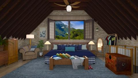 attic - by Christine Keller