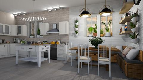 Cozy Kitchen - Kitchen  - by JarkaK