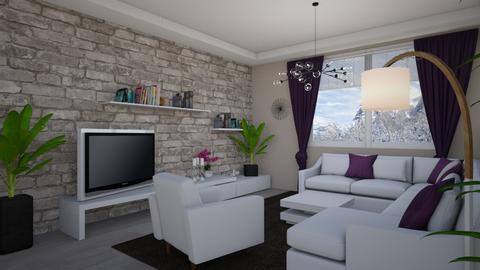 living and dinig - Living room  - by Anet Aneta Kucharova