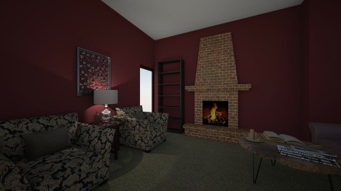 Tara Living Room - by Dmish2784