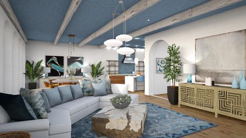 Modern Greek Living Room - Living room  - by jjp513