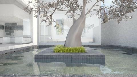 facade - Garden  - by Juancho M