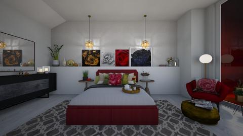 Rose - Modern - Bedroom - by FabulousGirl35