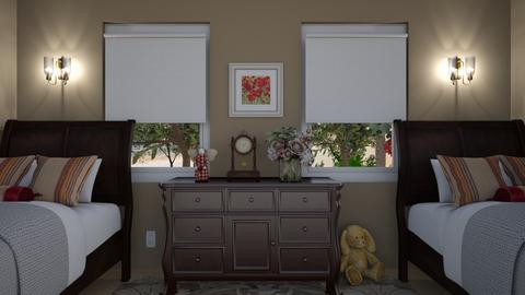 Grandmas Guest Room - Bedroom  - by bearapaw