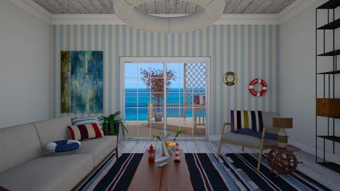 Nautico - Living room - by JessMei