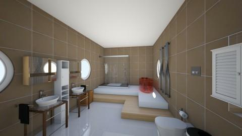 cold shower - Modern - Bathroom  - by ItsDimitra