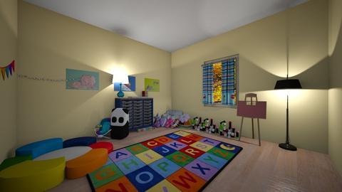 toy - Kids room  - by carli smith