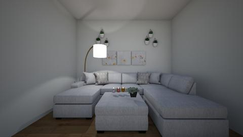 Simple living room - Living room  - by Planto