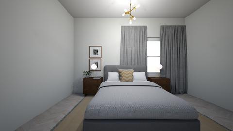 Mid Century Bedroom - Eclectic - Bedroom - by fiomoh