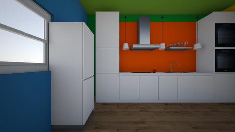My first kitchen - Kitchen - by Norvegien_01