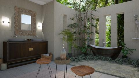tropical Bath1 - Bathroom - by rebsrebsmmg
