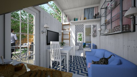 Tiny House - Eclectic - Living room  - by Theadora