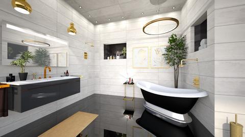 Art Deco Bath - Bathroom  - by susilva