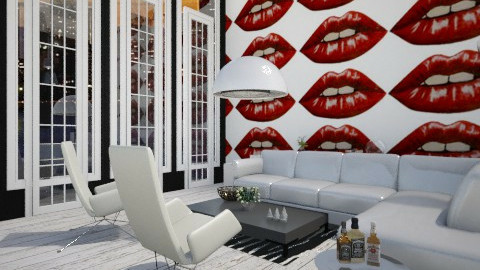 lips - Modern - Living room - by beccamc