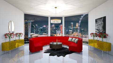 Singapur life - Modern - Living room  - by babucka
