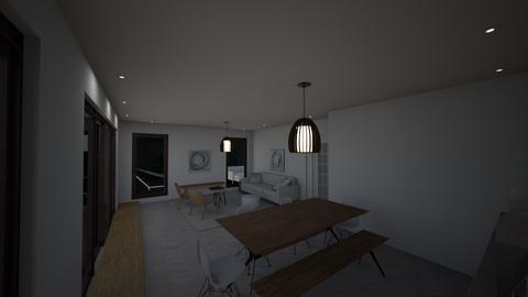 Recessed lighting draft 4 - Living room  - by gleidy