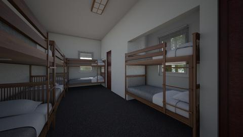 Retreat Center Room v2 - Bedroom  - by SammyJPili